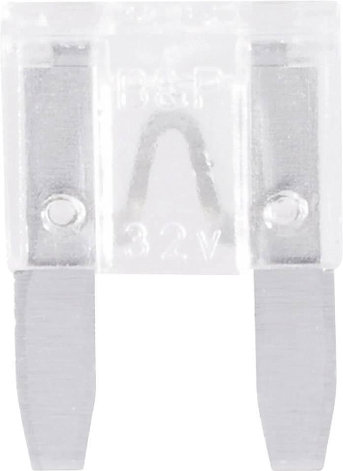 Mini plochá pojistka 341.132, 330.032, 25 A, biela, 1 ks
