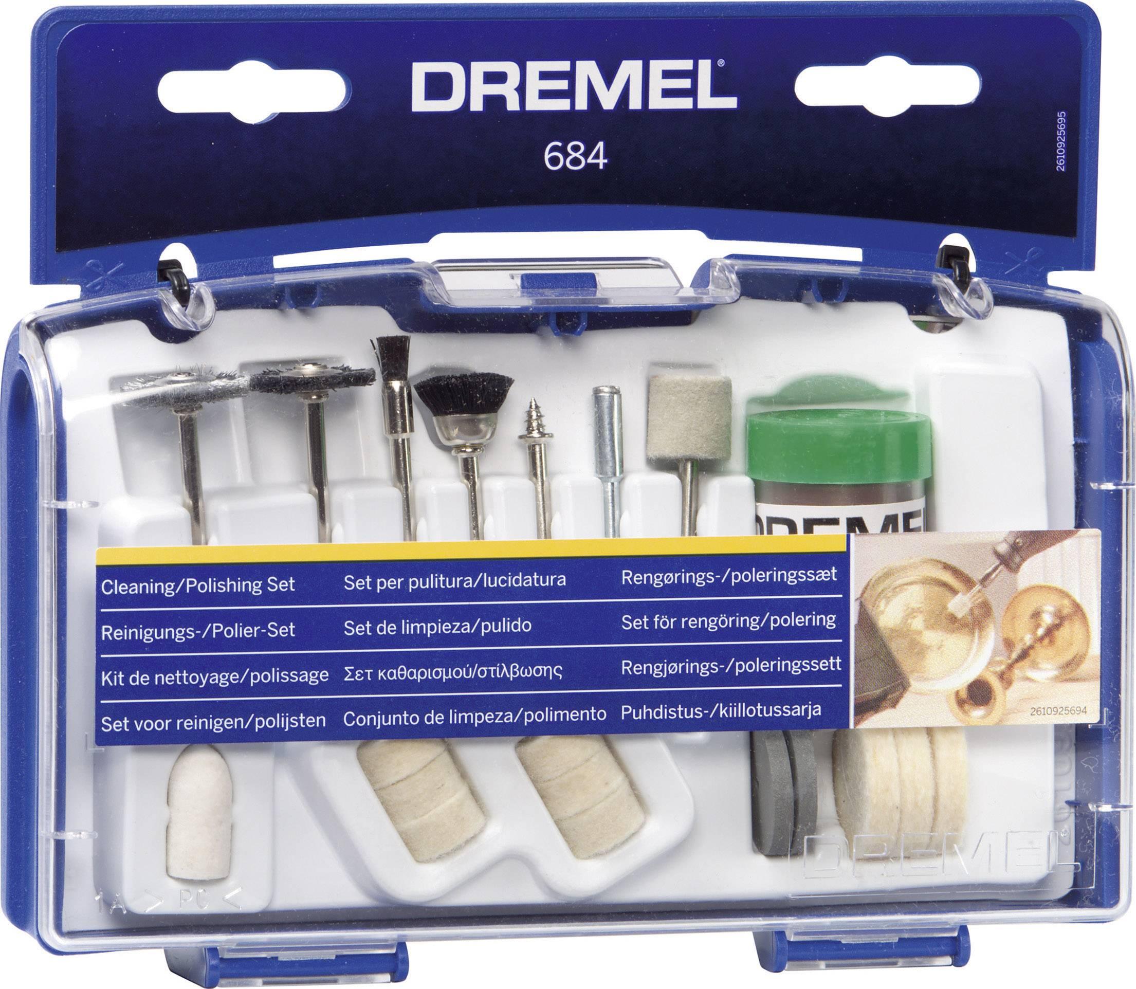 Čistící / leštící sada 20-ti ks, Dremel 684