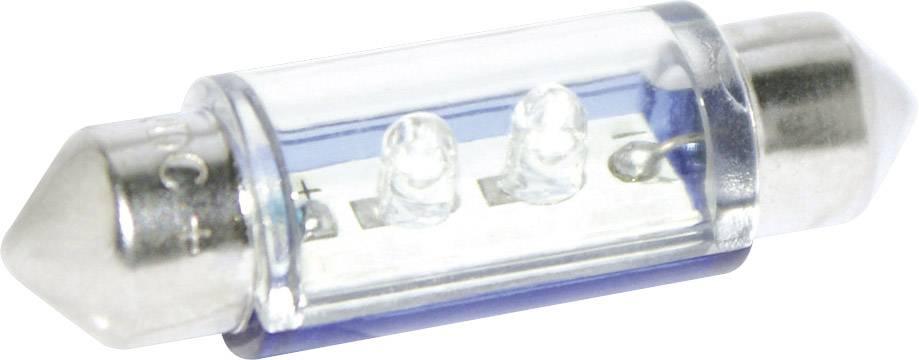 LED sufitka Eufab, 13473, 12 V, 36 mm, červená
