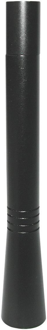 Tyčová autoanténa Eufab 17561 čierna, 10 cm, hliník