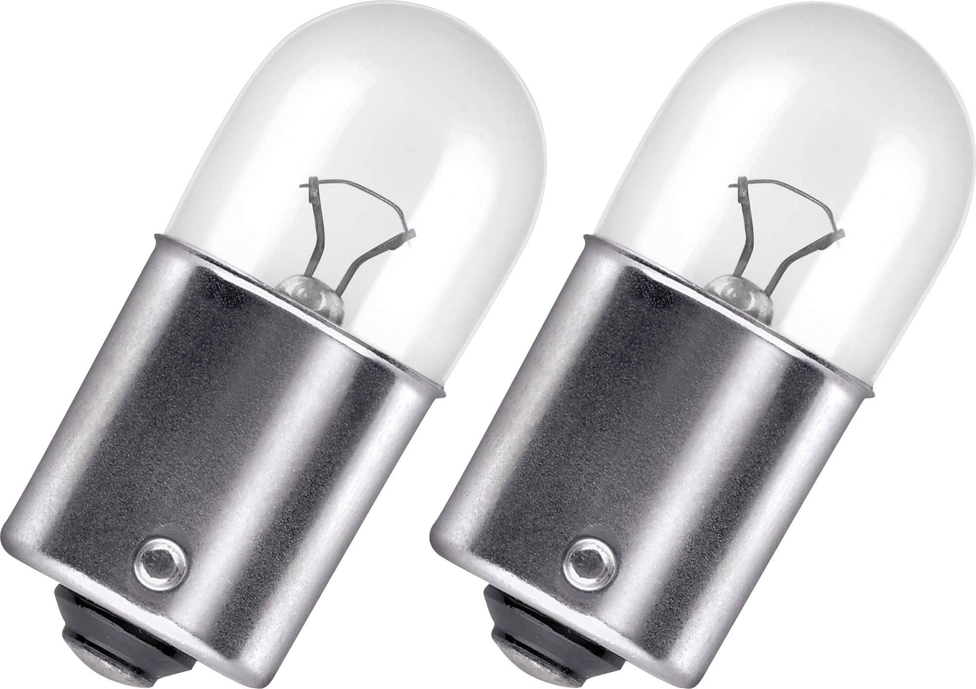 Autožárovka Osram, 5007-02B, 12 V, R5W, BA15s, čirá, 2 ks