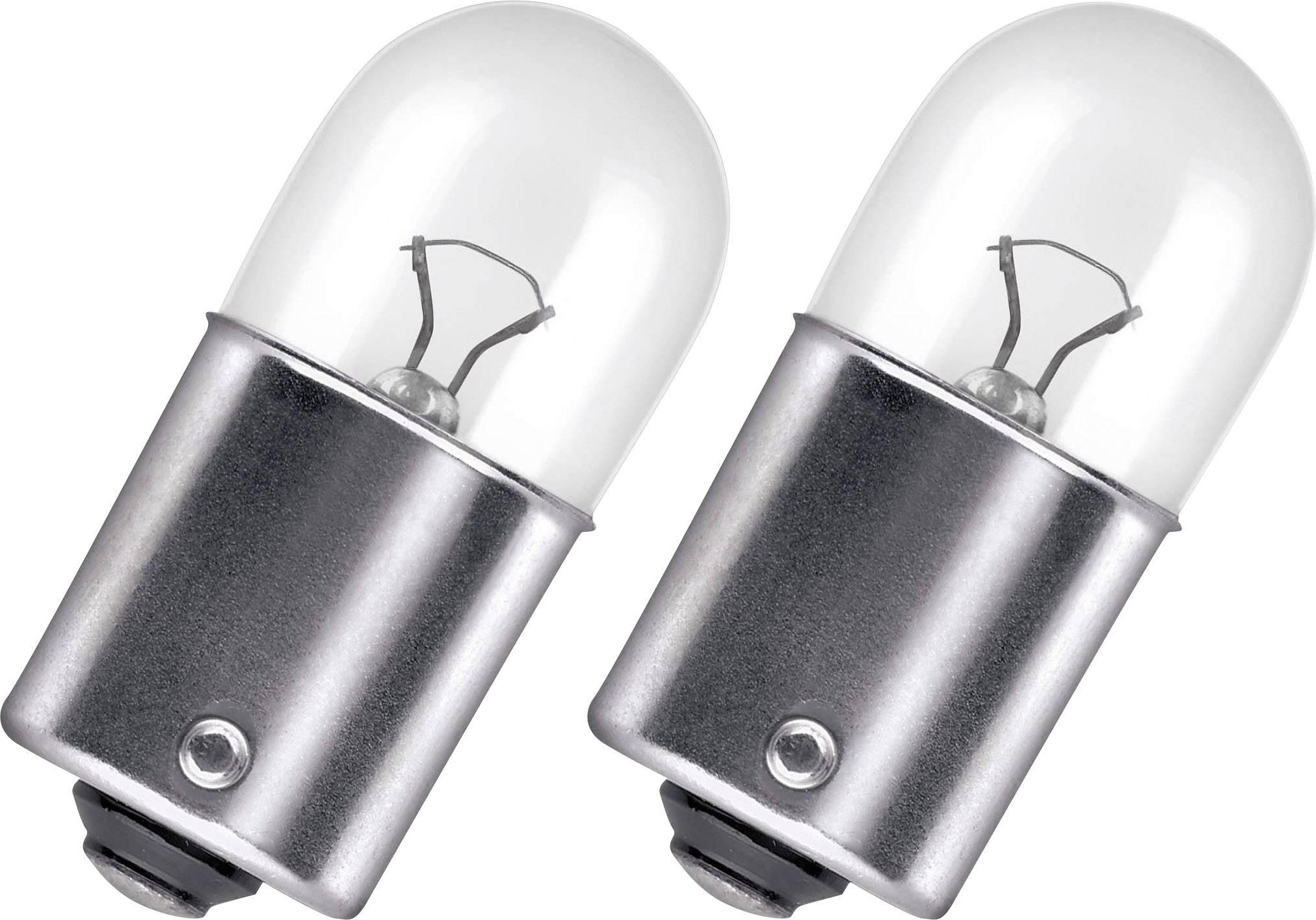 Autožárovka Osram, 5008-02E, 12 V, R10W, BA15s, čirá, 2 ks