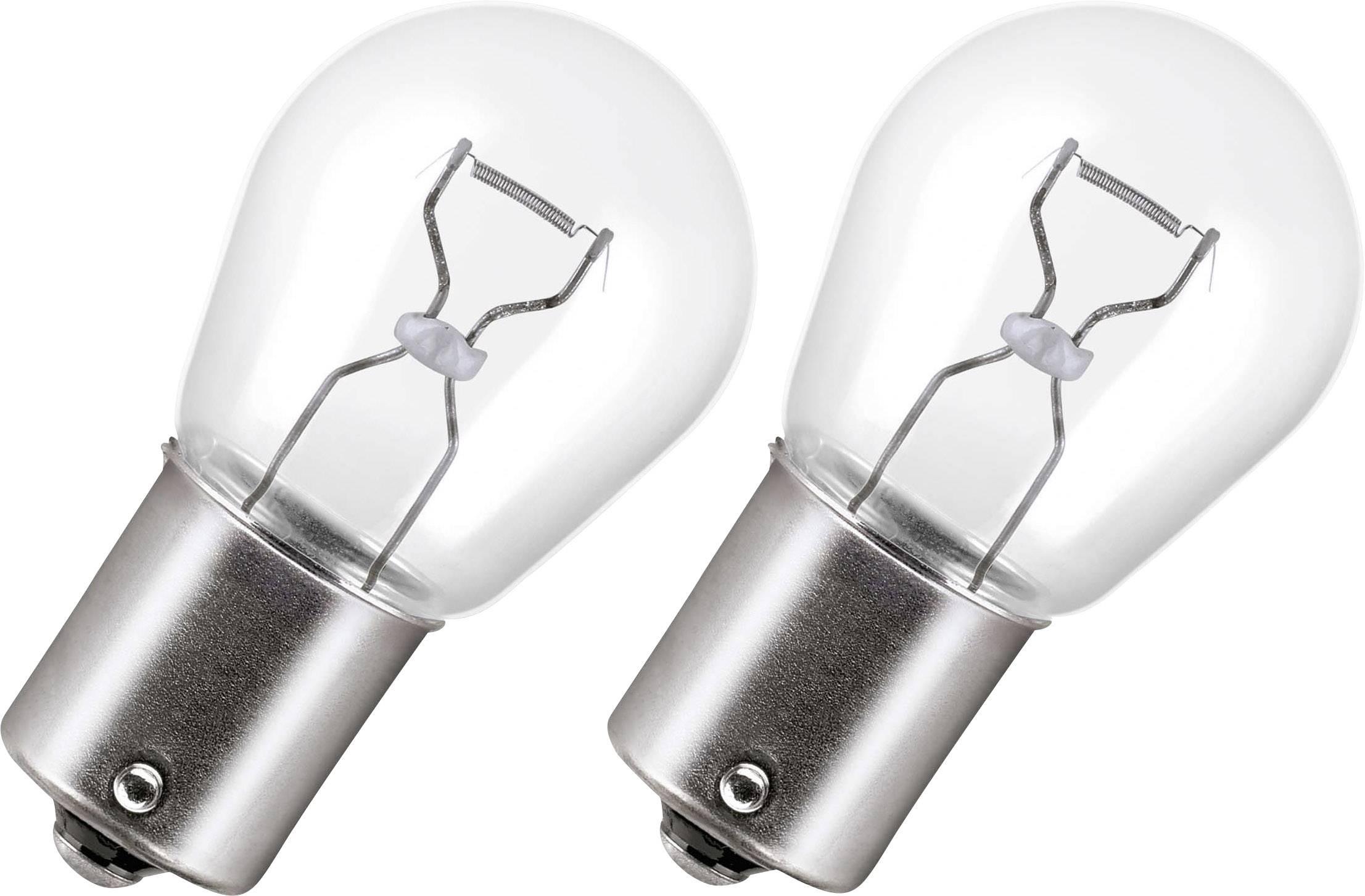 Signálne svetlo OSRAM OSRAM Kugellampe 21 W 7506-02B, P21W, 21 W