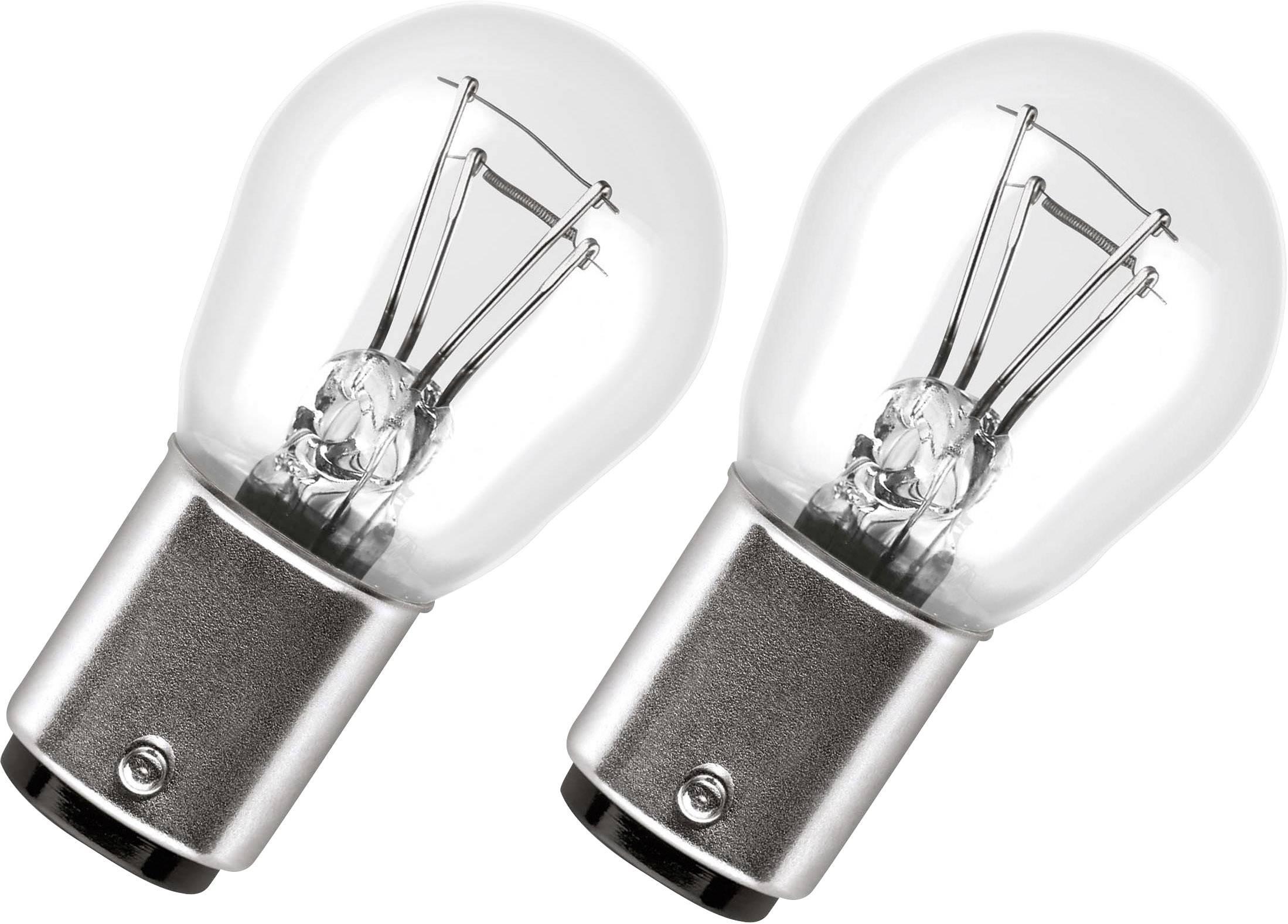 Signálne svetlo OSRAM KUGELLAMPE 21/5 W 7528-02E, P21/5W, 21/5 W