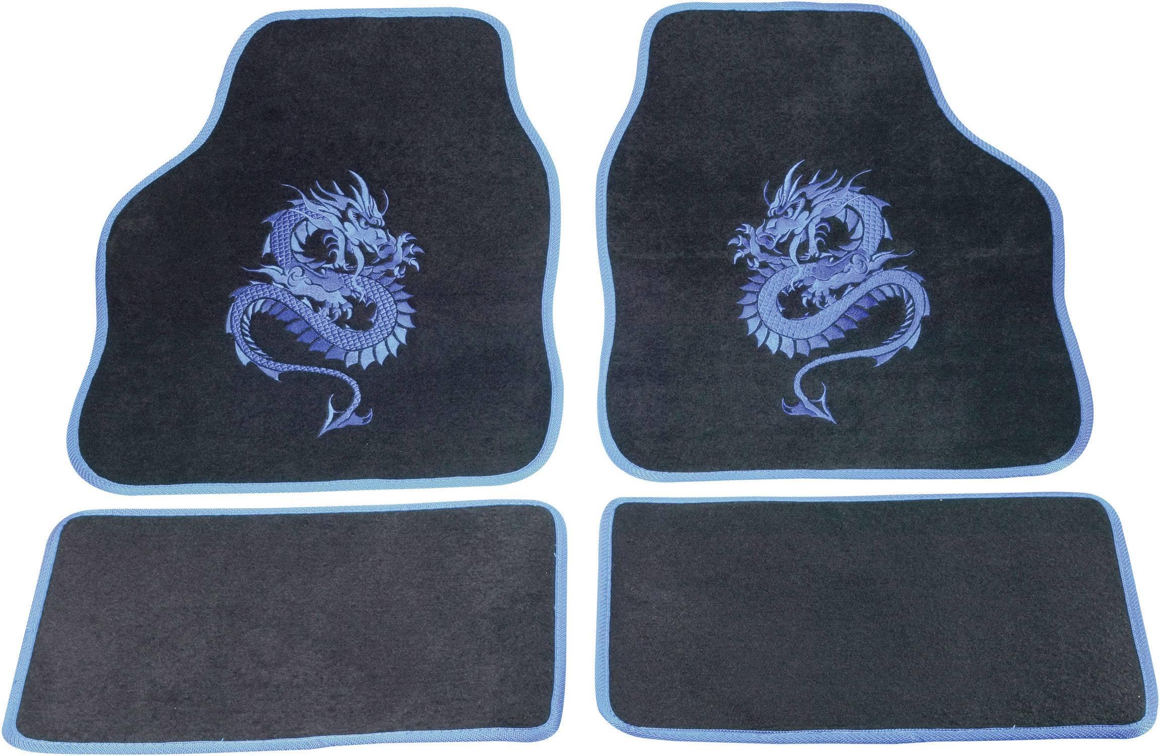 Rohožka (univerzálna) do auta cartrend 1400-01 1400-01, textil, modrá