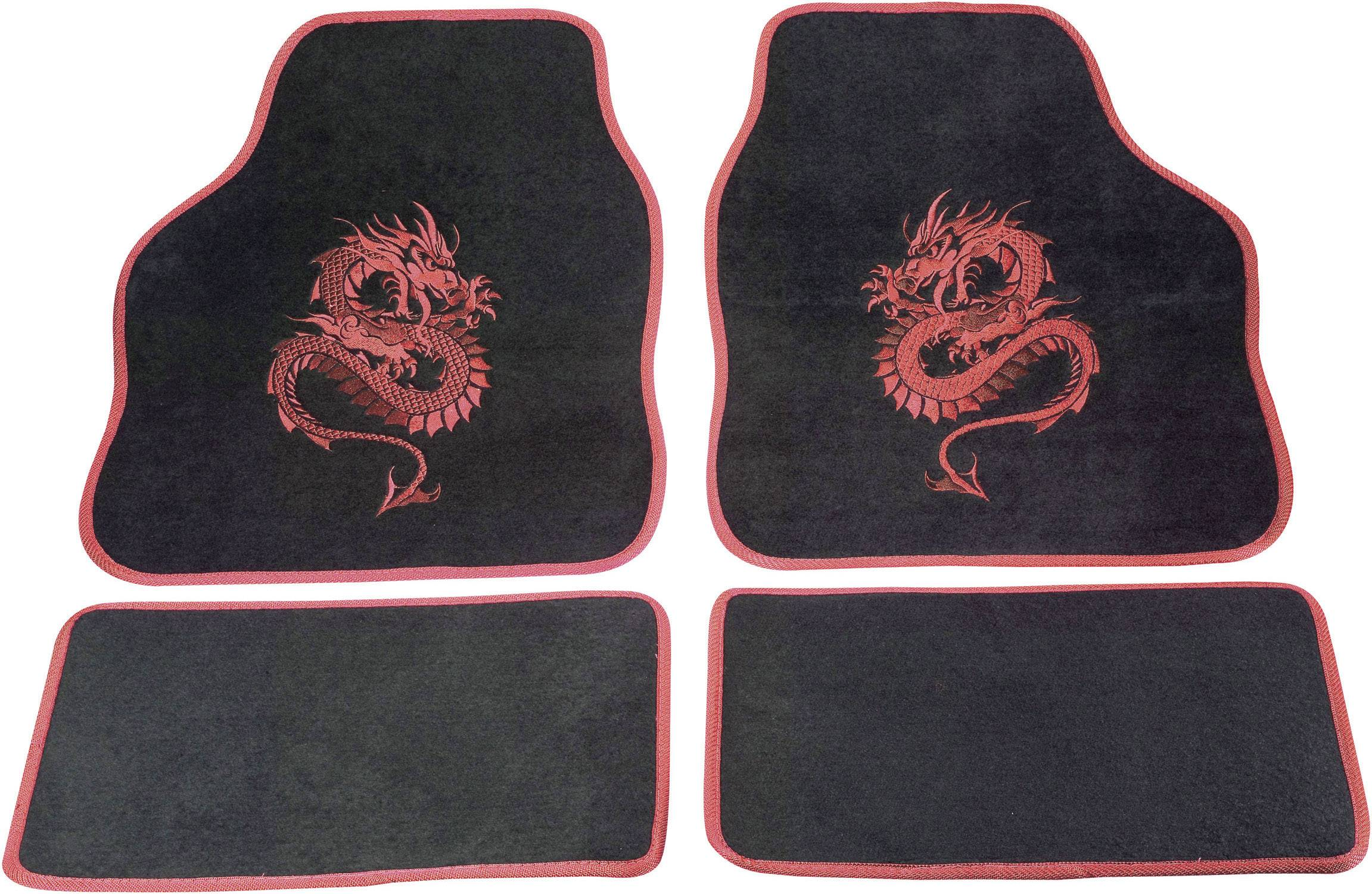 Rohožka (univerzálna) do auta cartrend 1400-02 1400-02, textil, červená
