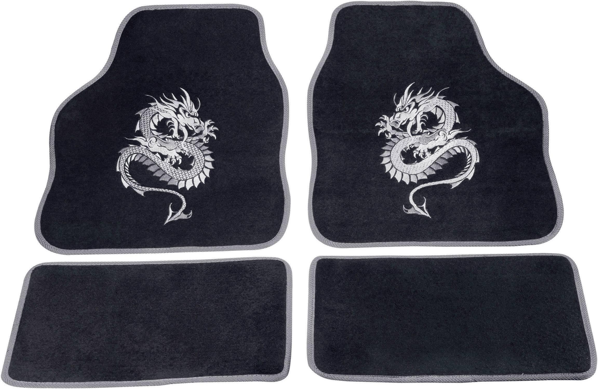 Rohožka (univerzálna) do auta cartrend 1400-03 1400-03, textil, strieborná