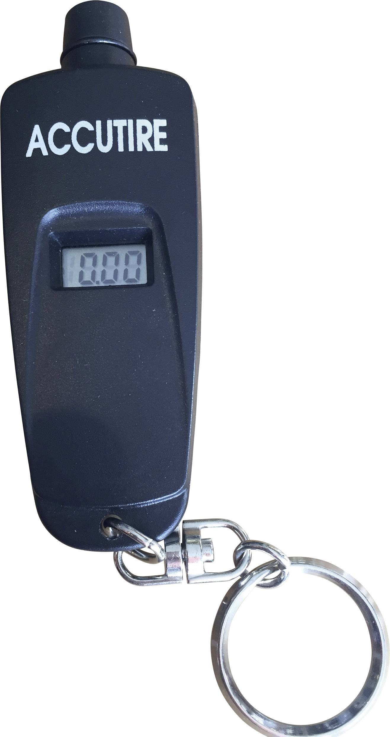 Digitální měřič tlaku pneumatik Accutire, 0,4 - 6,8 bar
