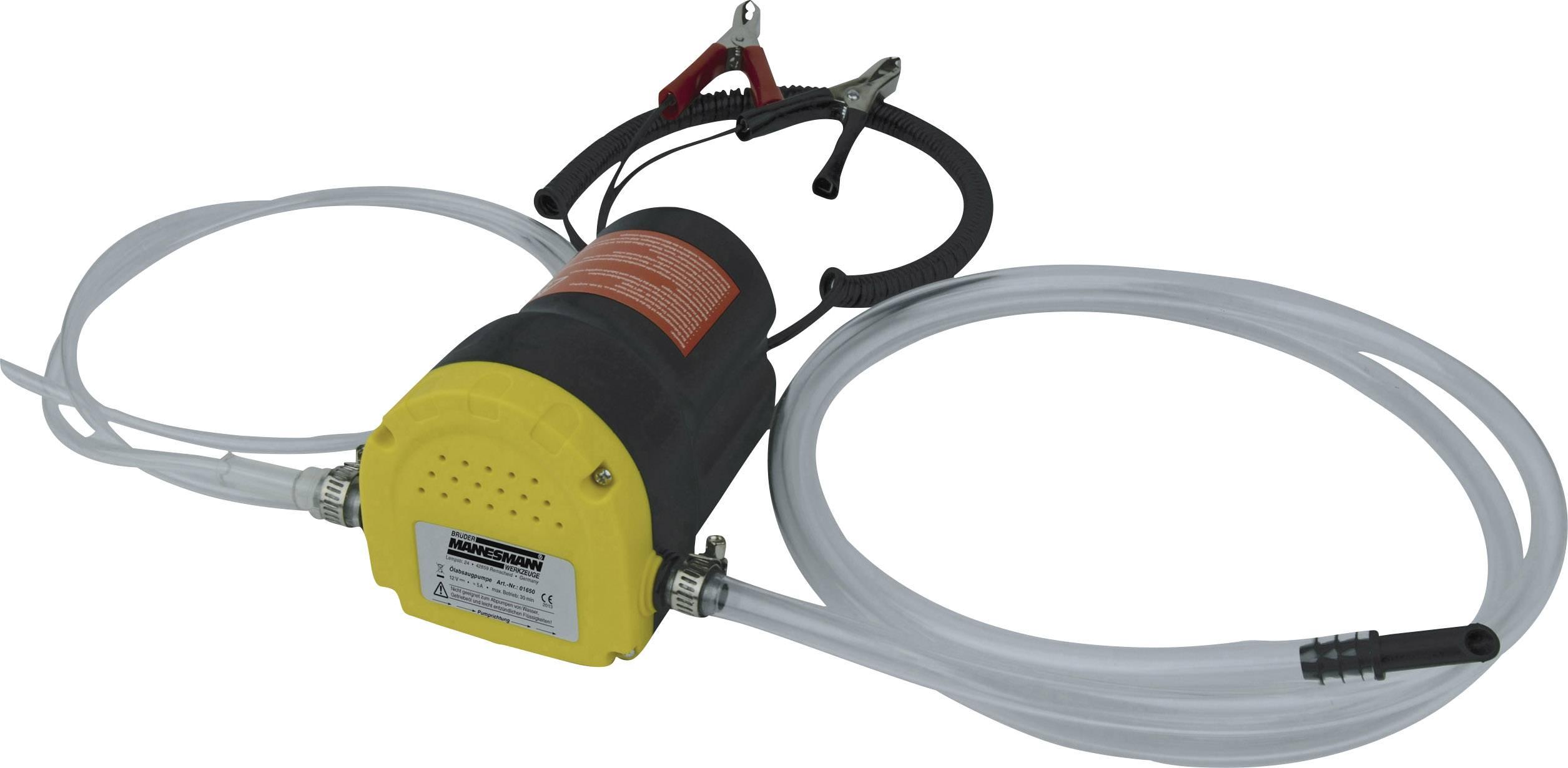 Odsávací pumpa na olej Brüder Mannesmann, 01650, 12 V