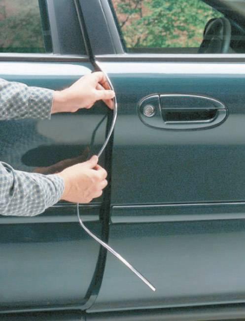 Ochranná lišta na dvere auta Herbert Richter 83/50, chróm
