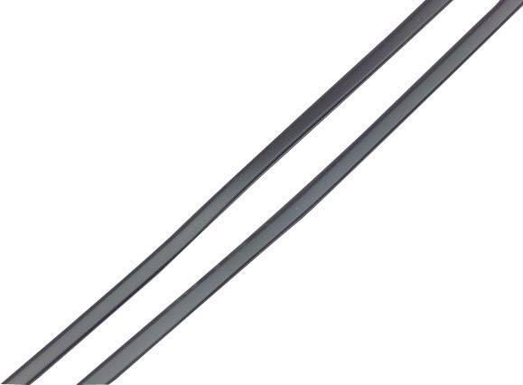 Ochranná lišta na dvere auta Herbert Richter 84/50, čierna
