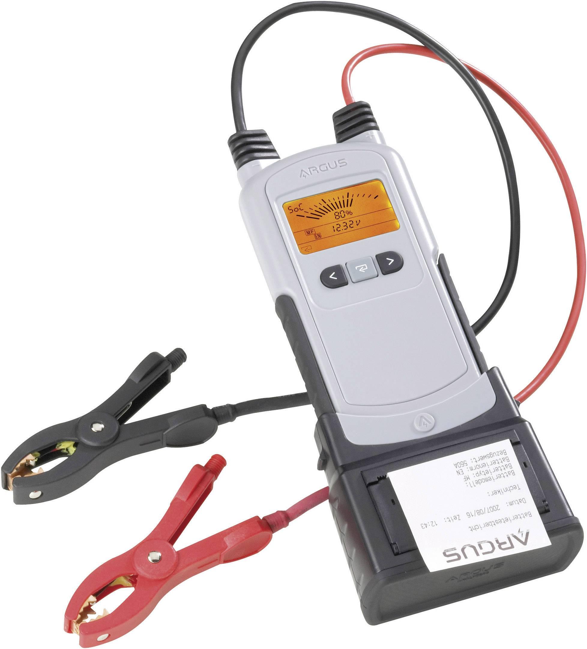 Tester autobaterií a systémový analyzátor Argus AA500PWP, 12 V