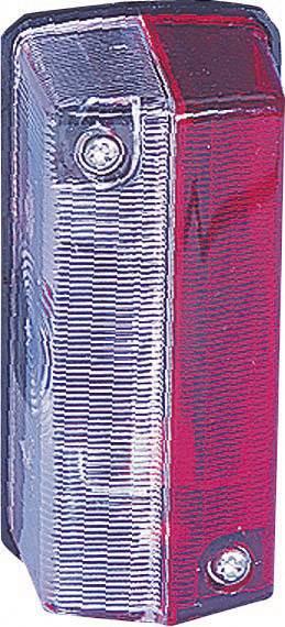 Obrysové světlo SecoRüt, 20238, červená/bílá