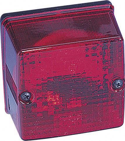 Zadní světlo do mlhy SecoRüt, 90239, 12 V, červená