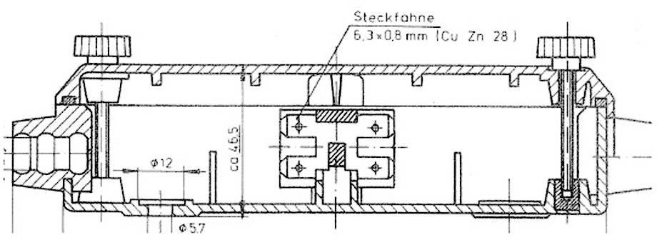 Rozvodná krabice SecoRut, 12 pin, upevnění šroubem