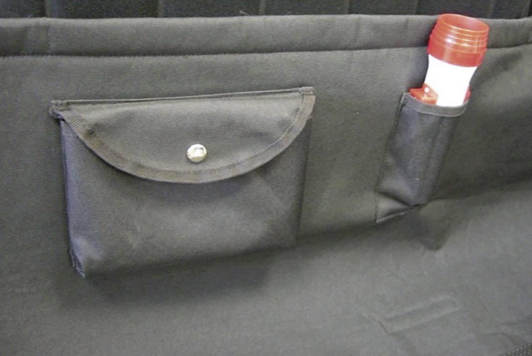 Ochranný poťah do kufra auta HP Autozubehör 19.232, (d x š x v) 850 x 950 x 360 mm
