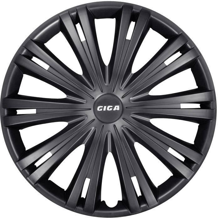 Poklice na kola Giga, R14, matně černé