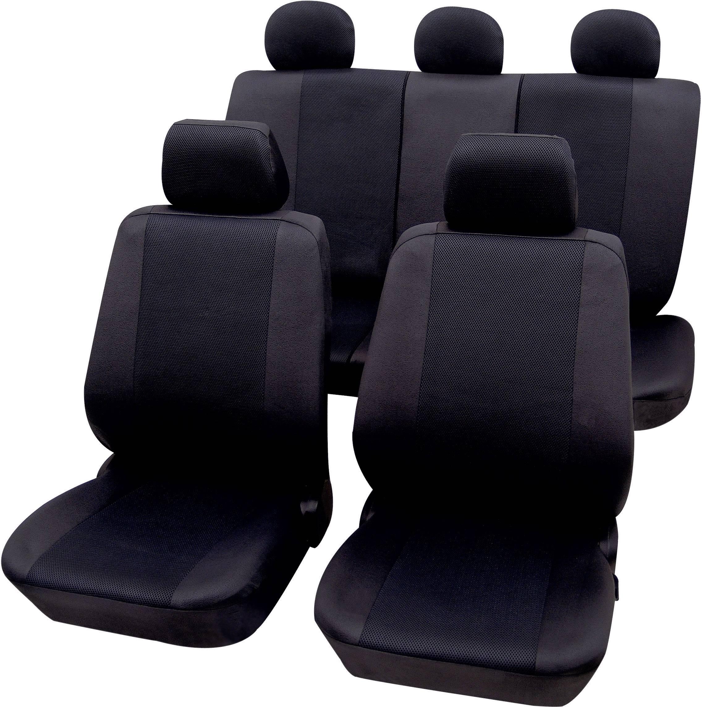 Autopoťahy Petex Sydney 26174804, 11-dielna, polyester, čierna