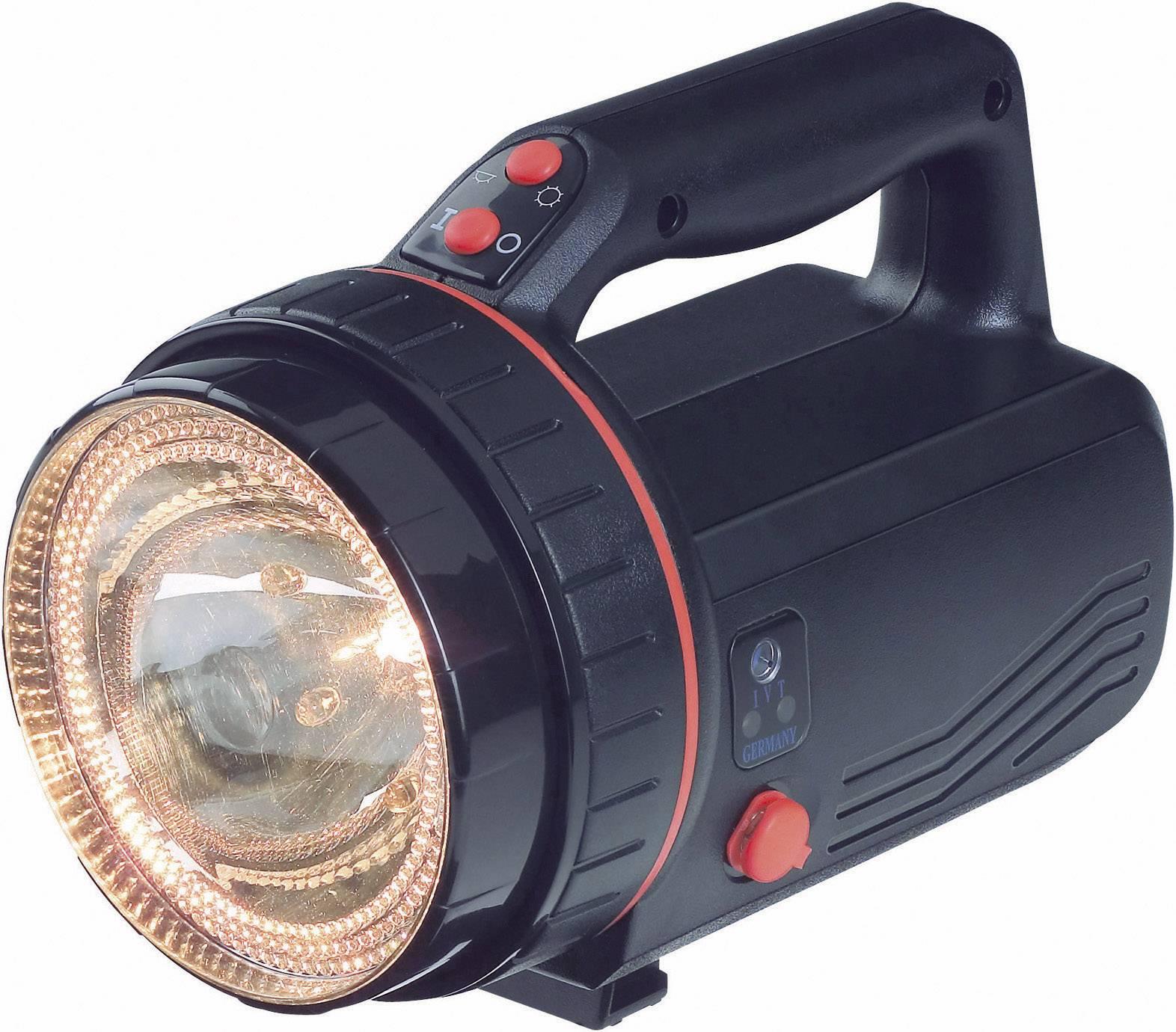 Akumulátorový ručný reflektor Profi Plus