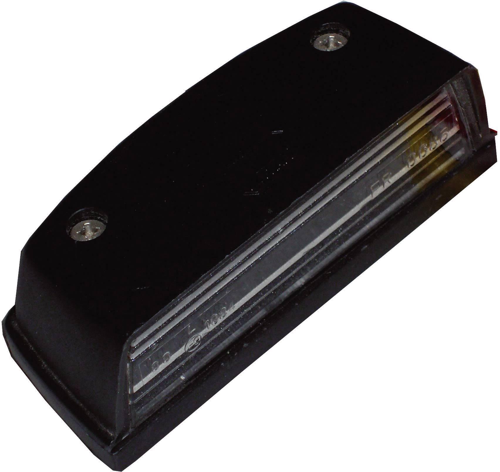 Osvětlení SPZ SecoRüt, 90205, černá/transparentní