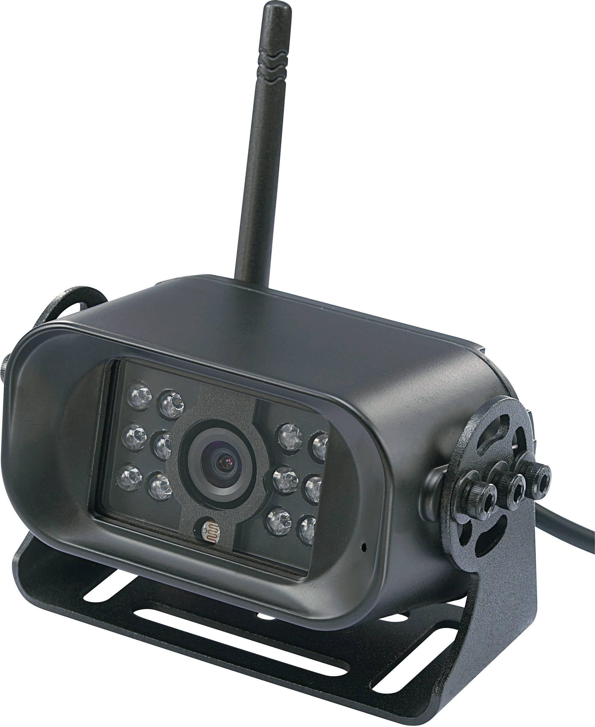 Bezdrôtová cúvacia kamera zabudovaná do ŠPZ podložky FFKK4 (Kanal 4)