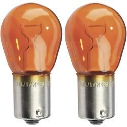 Autožárovka do blinkru Osram Ultra Life, 7507ULT-02B, 12 V, PY21W, BAU15s, žlutá, 2 ks