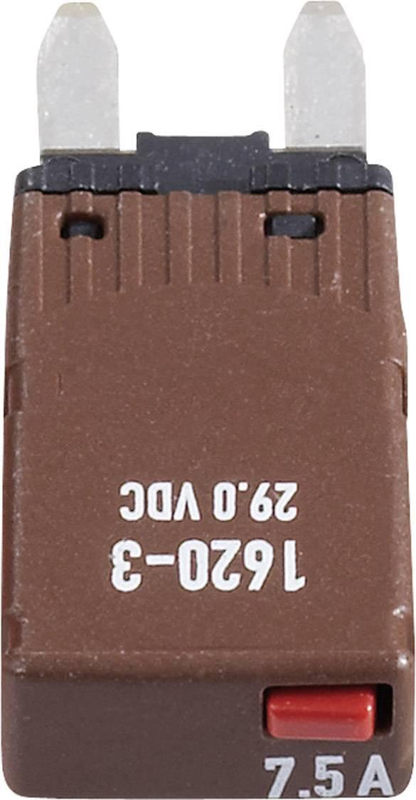 Plochá autopoistka mini, 1620-3-7,5A, 7.5A
