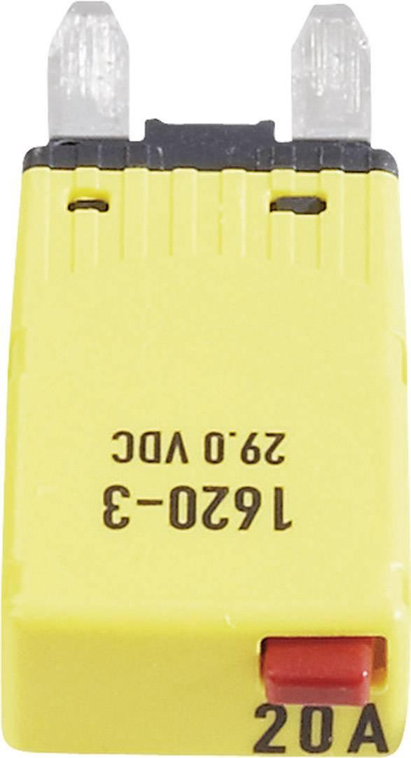 Plochá autopoistka mini, 1620-3-20A, 20 A