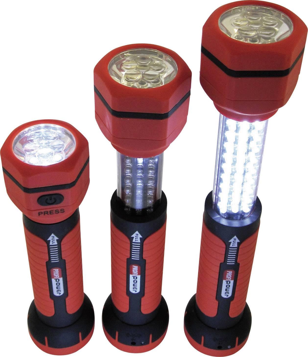 LED teleskopické pracovné svetlo