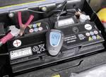 Tester baterie 12/24 V