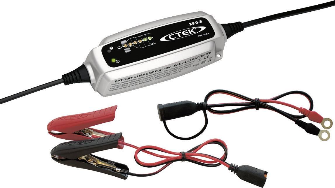 Automatická nabíječka autobaterií CTEK XS 0.8, 0,8 A, 12 V