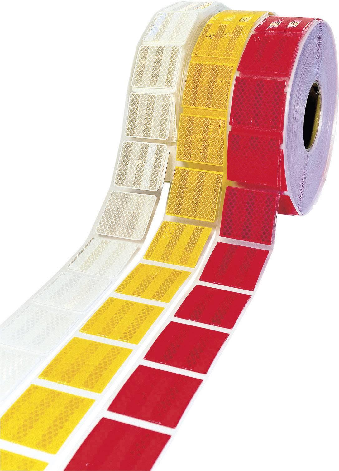 Obrysová svítící páska 3M Diamond Grade, DR-1230-4720-8, 50 m, červená