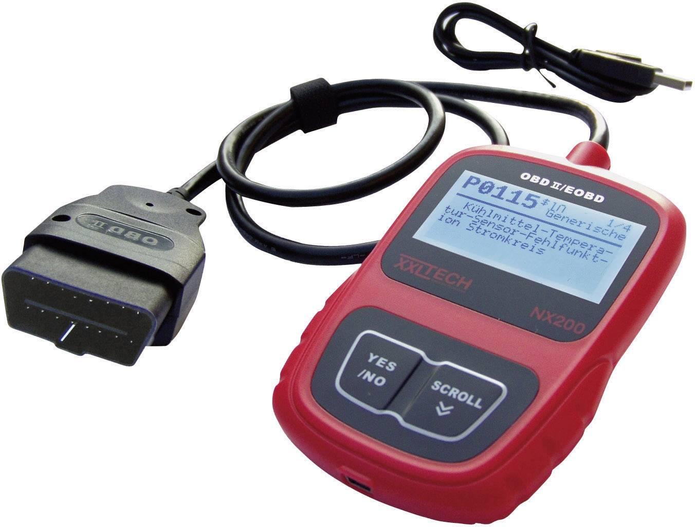 Automobilové diagnostické zařízení OBD II/ EOBD XXL Tech