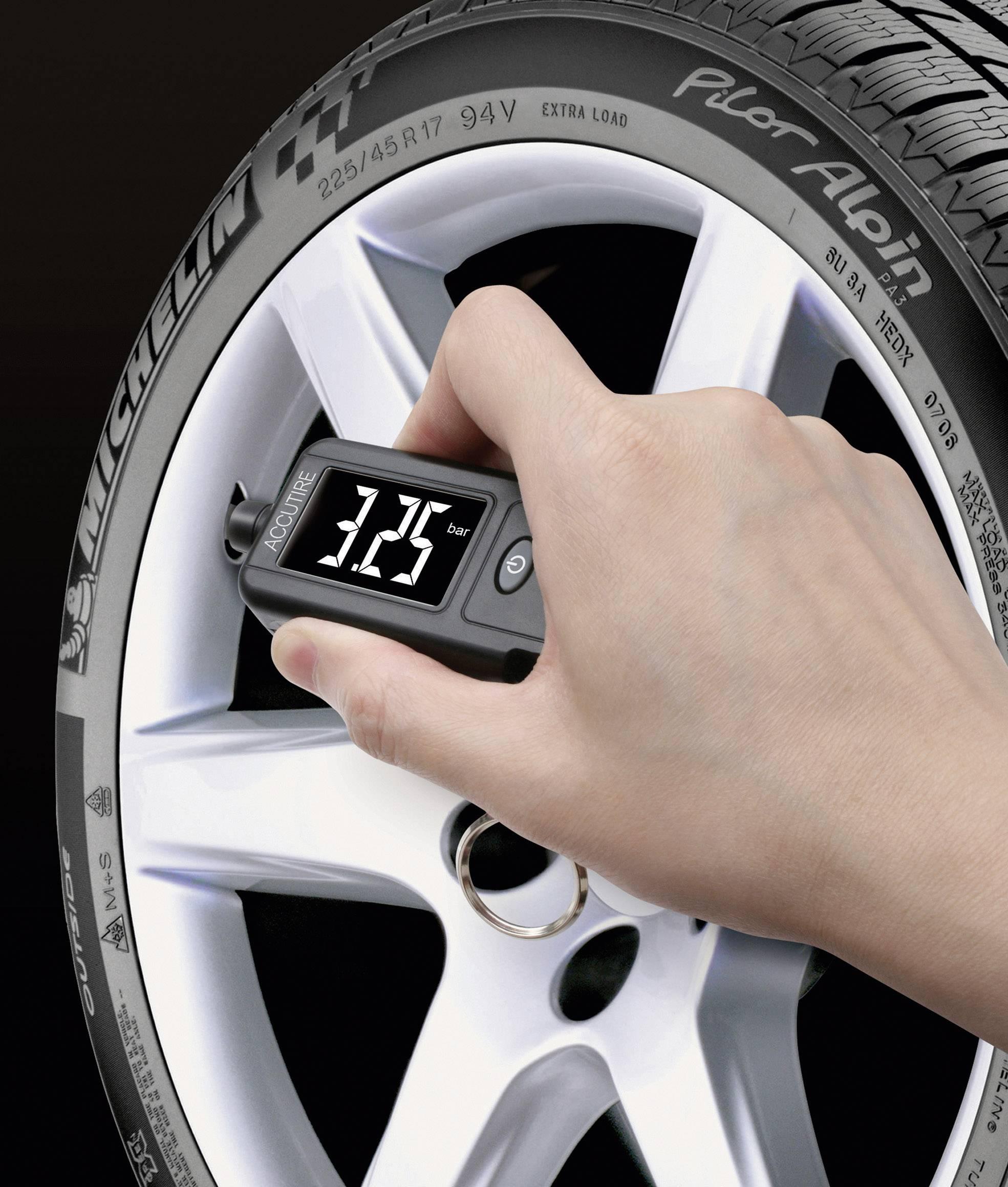 Merač tlaku a hĺbky dezénu pneumatík