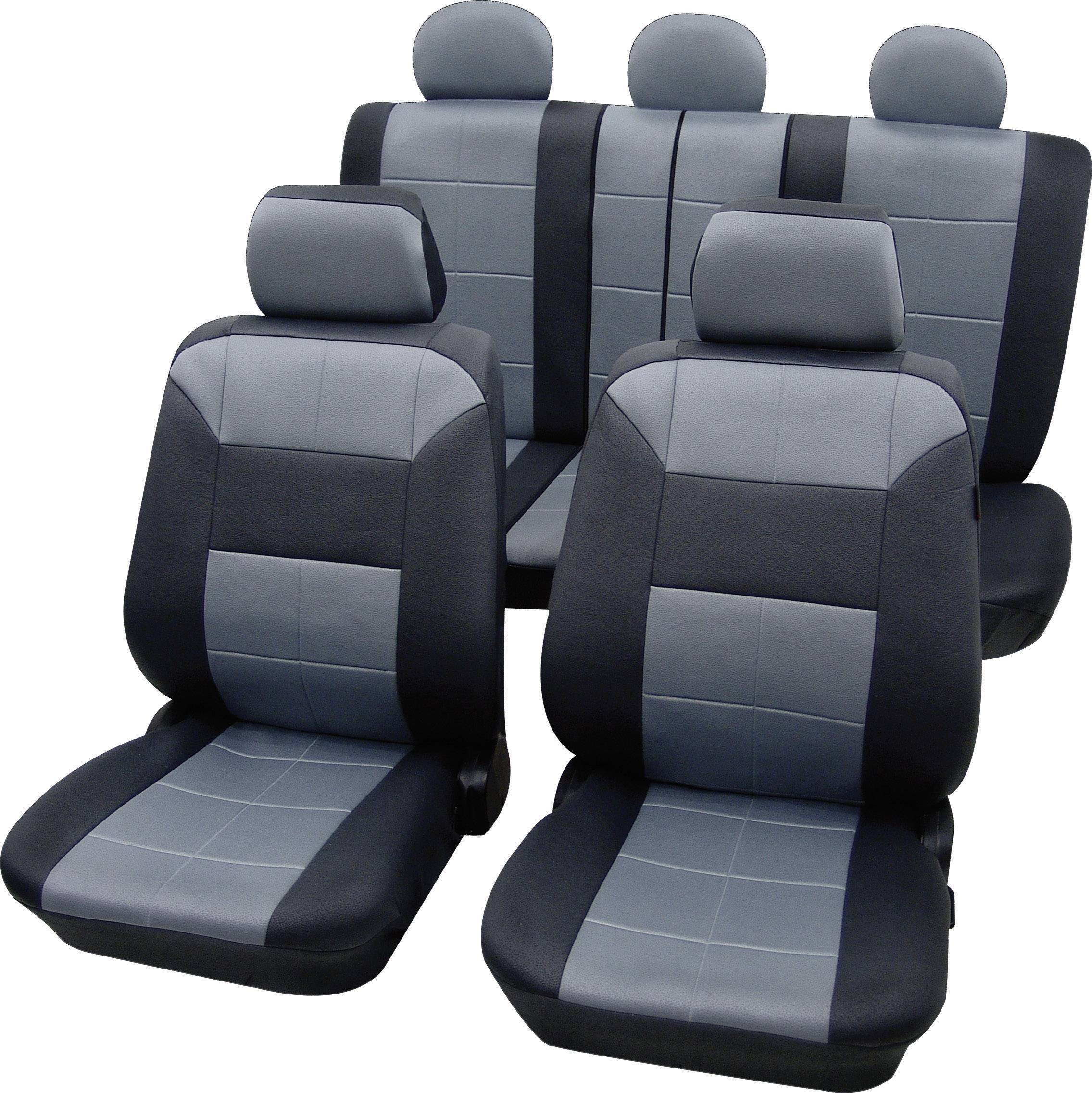 Autopoťahy Petex Dakar SAB 1 Vario Plus 22574918, 17-dielna, polyester, sivá, čierna