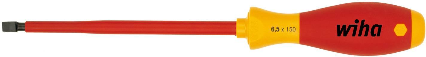 Plochý skrutkovač VDE Wiha SoftFinish electric 320N 00823 dĺžka čepele: 100 mm
