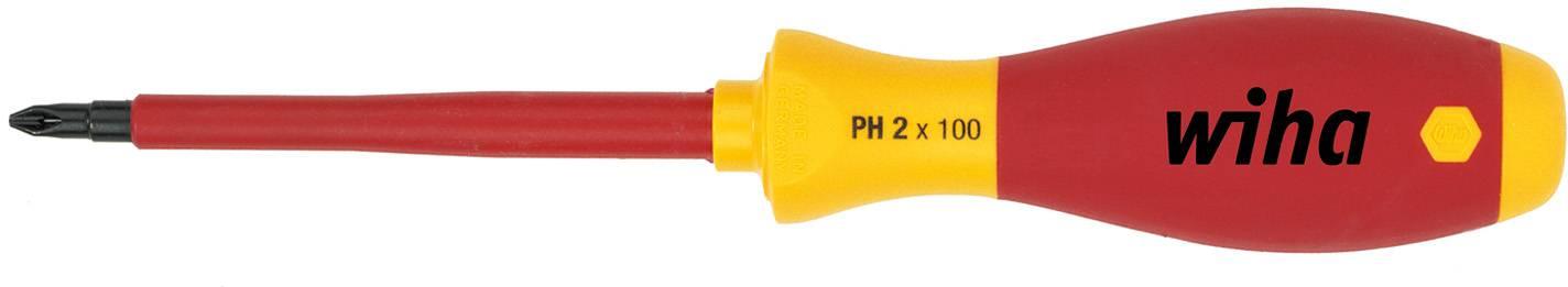 Krížový skrutkovač VDE Wiha SoftFinish 00848, PH 2, čepeľ 100 mm