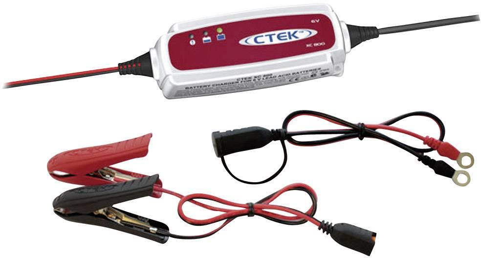 Automatická nabíječka autobaterií CTEK XC 0.8, 0,8/7,2 A, 6 V