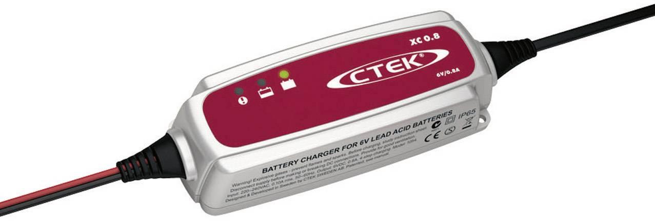 Automatická nabíjačka CTEK XC 0.8, 6 V, 0,8 A