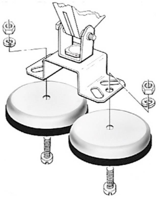 Magnetický držák pro světlomet