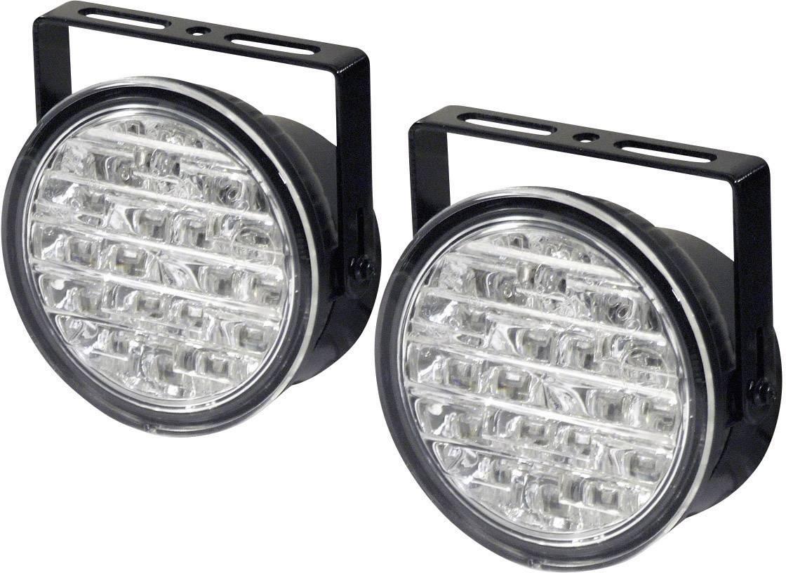 LED autosvetlá na denné svietenie DINO 610795, 1 pár