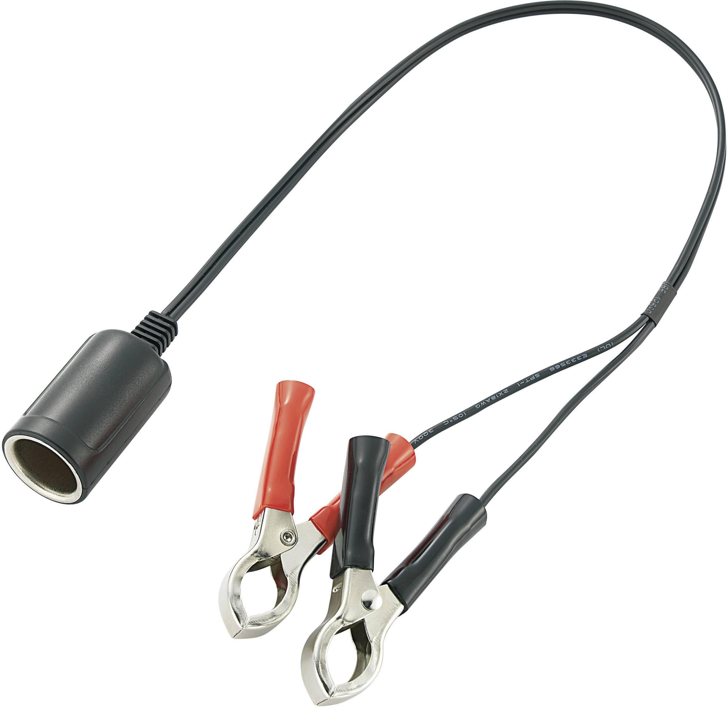 Kabelový adaptér se svorkami, A13-40A23A1, 12 V, 10 A