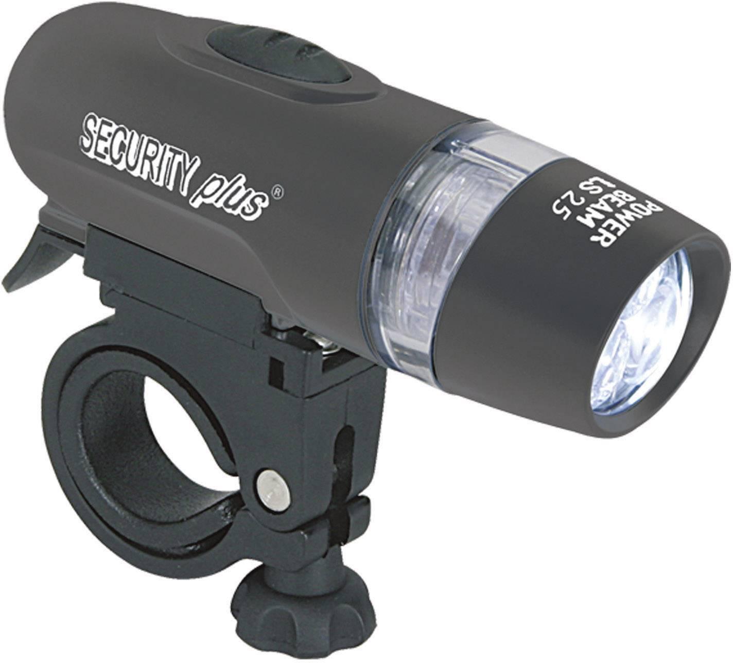 Bezpečnostní osvětlení na kolo/oděv, bílá Security Plus 0025, LS25