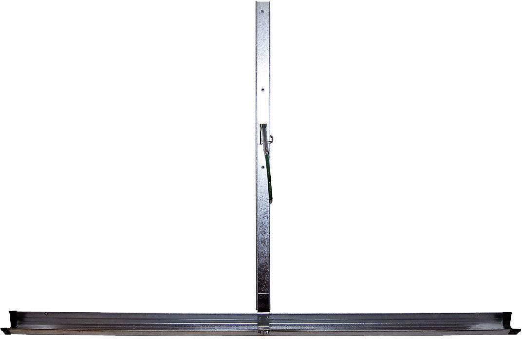 Nástěnný držák na jízdní kolo Eufab 16408, ocel, stříbrná