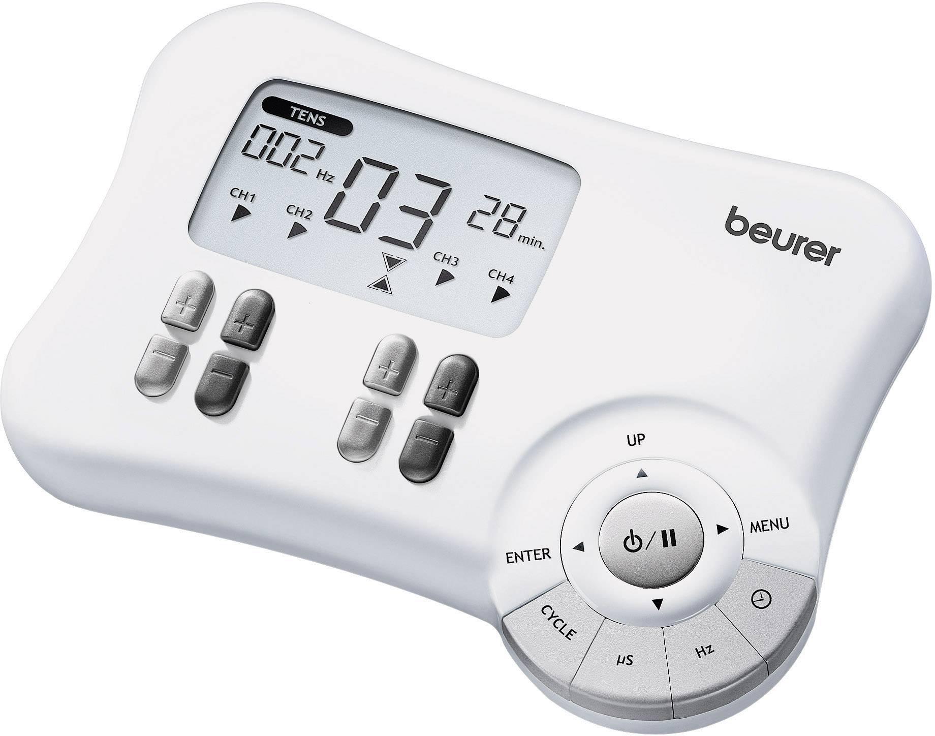 Digitálny elektrostimulátor Beurer TENS/EMS EM 80