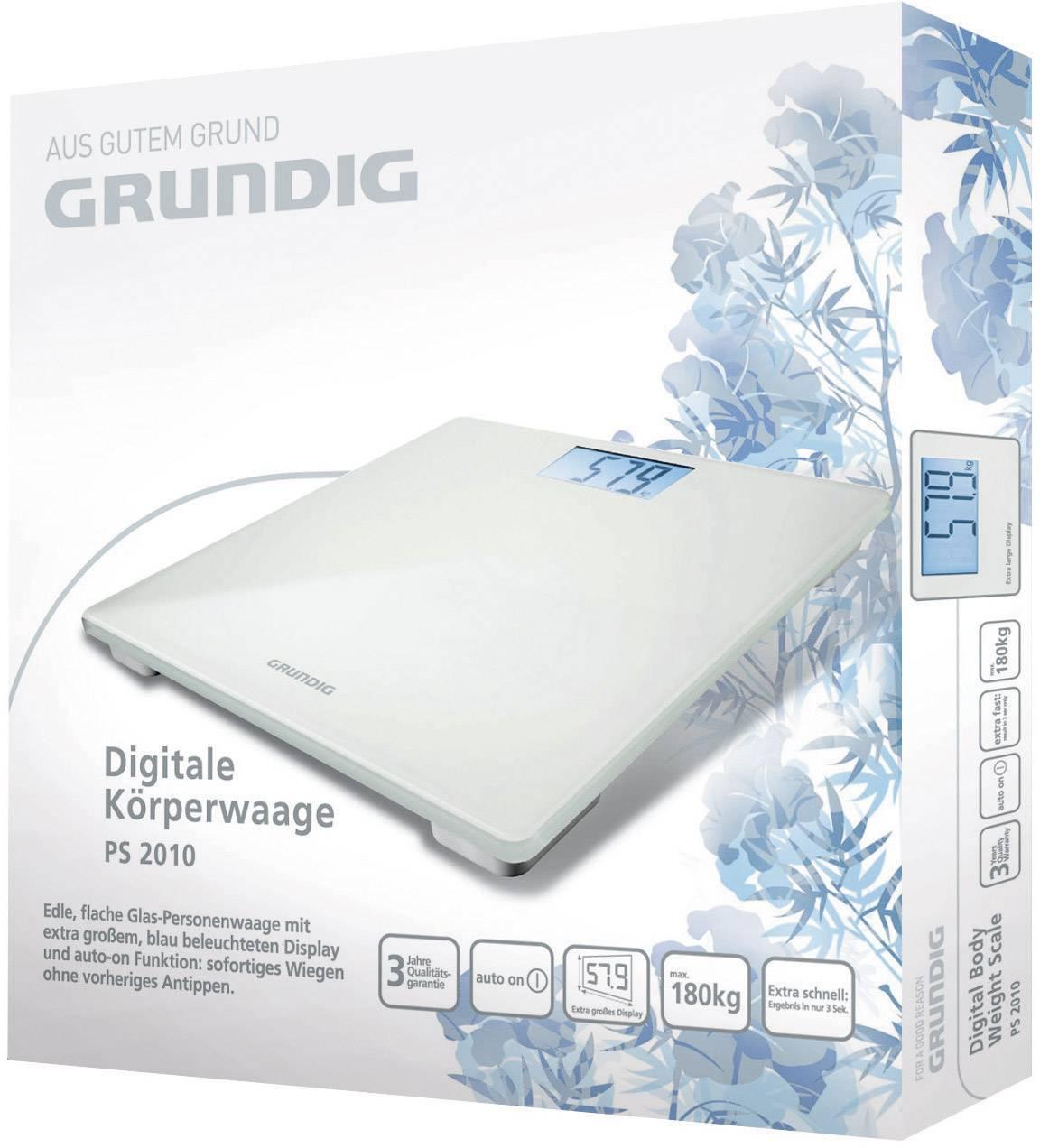 Digitálna osobná váha Grundig PS 2010, 180 kg