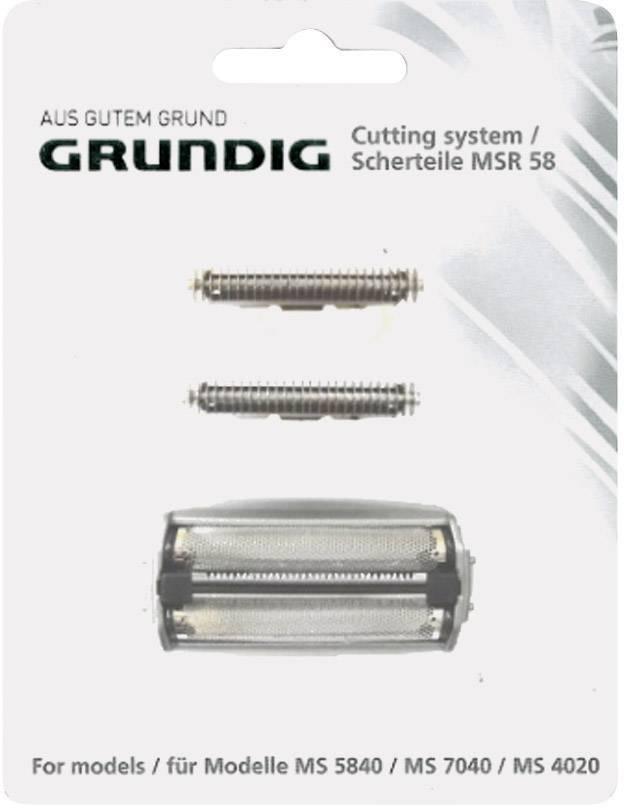 Náhradní hlavice pro holicí strojek Grundig MSR 58
