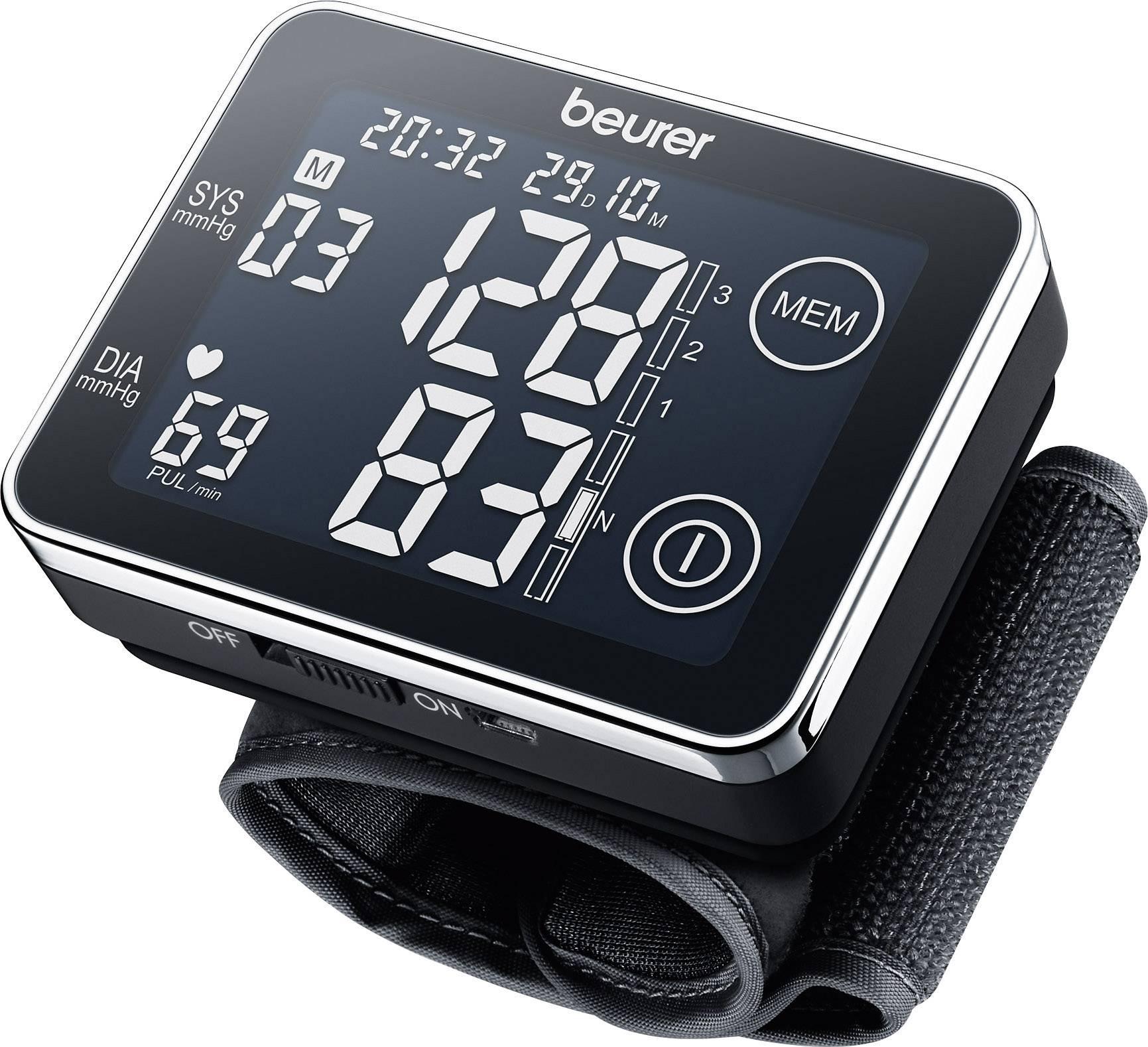 Přístroj na měření krevního tlaku na zápestí BC 58