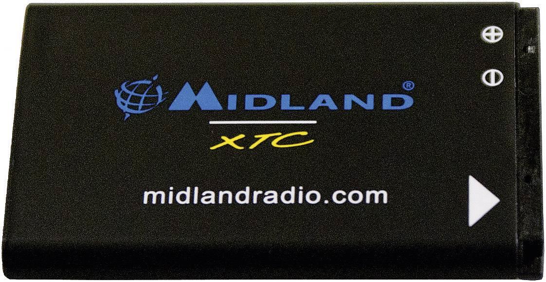 Akumulátor do kamery Midland Ersatzakku XTA-510 XTA-510, 1100 mAh