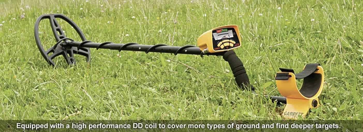 Detektor kovu Garrett Euro ACE Package 99616, max. hĺbka vyhľadávania 150 cm